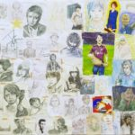 F120 油彩、アクリル、水彩、色鉛筆、水彩色鉛筆、パステル、色ペン、CG、その他